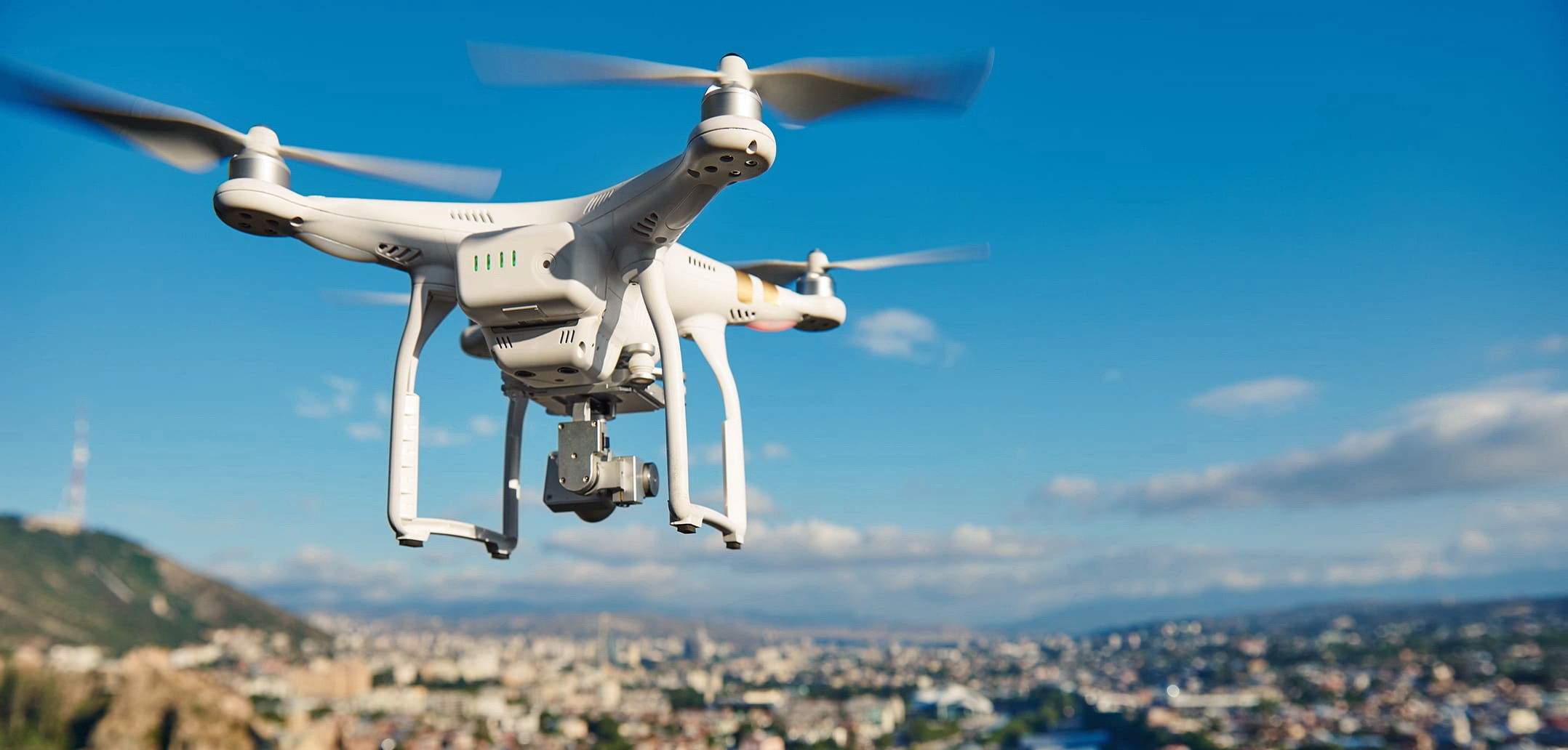 Anti-drone protection of densely populated areas